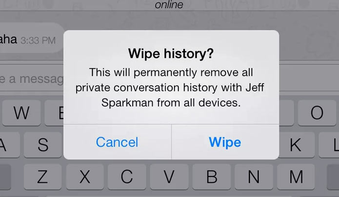 Wiper App – Delete Sent Messages from Recipient's Phone! Download Here
